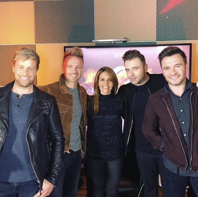 Westlife en The Nicky Byrne Show! 0310210