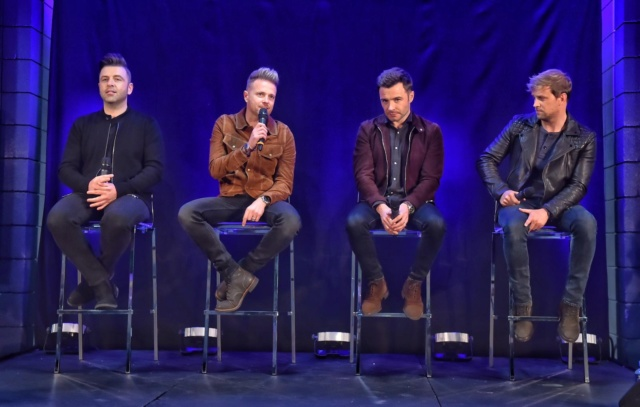 Westlife's Press Conference in Belfast 043210