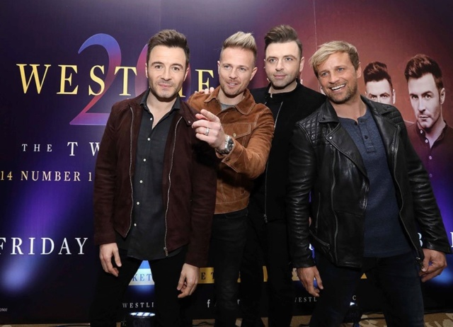 Westlife Press Conference InterContinental - 23.10.18 06-310