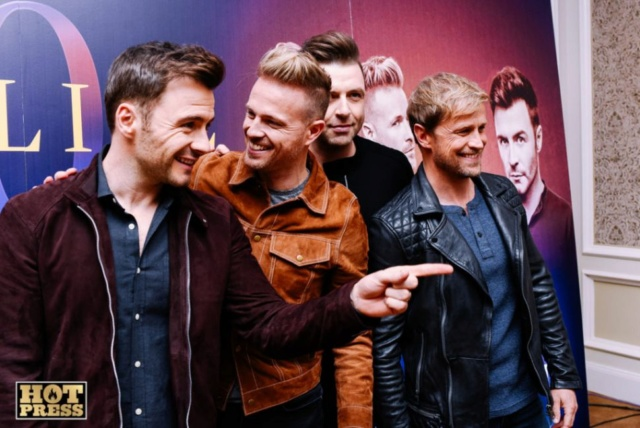 Westlife Press Conference InterContinental - 23.10.18 065310