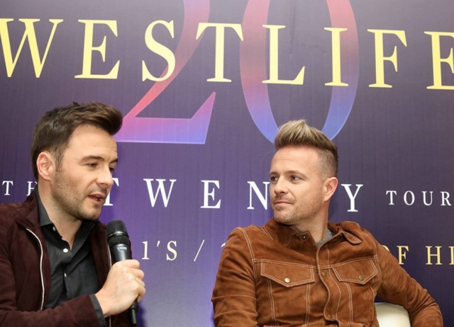 Westlife Press Conference InterContinental - 23.10.18 15-110