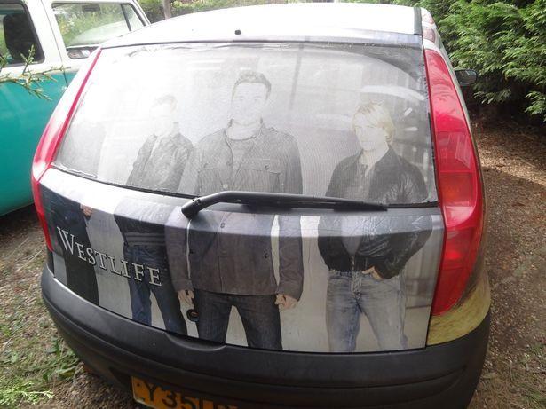 Fiat Punto inspirado en Westlife mientras la banda se prepara para iniciar la gira de reunión 1_back10