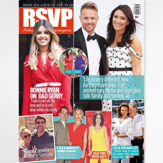 Nicky y Georgina en RSVP Magazine Dhwwce10