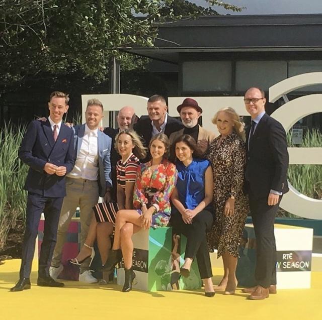 Las estrellas se reúnen para el lanzamiento de la nueva temporada de RTÉ Dkuxlu11