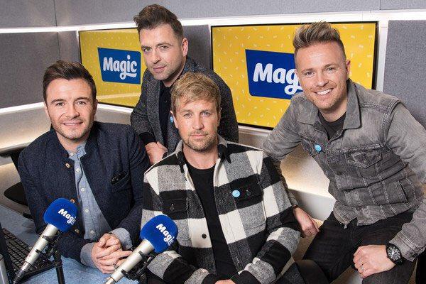Westlife en Magic Radio Dwejjl10