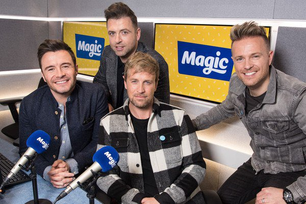 Westlife en Magic Radio Dwejjl12