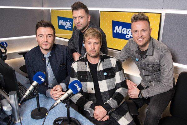 Westlife en Magic Radio Dwejjl13