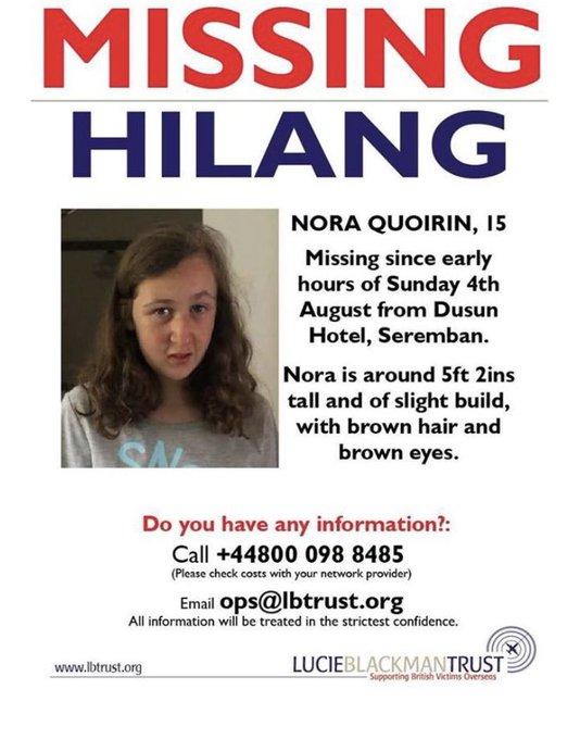 Nicky Byrne, de Westlife, pide a los fans malasios que ayuden a encontrar a una chica irlandesa desaparecida Ebcabr10