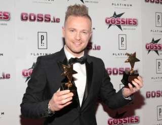 Nicky en el top 100 de las mejores estrellas irlandesas de 2018! Gossie11
