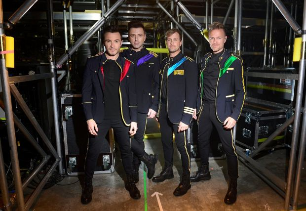 Backstage with Westlife: Fotos Image110