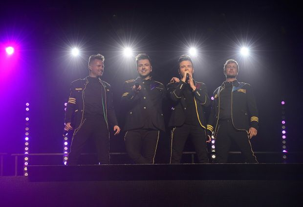 Backstage with Westlife: Fotos Image610