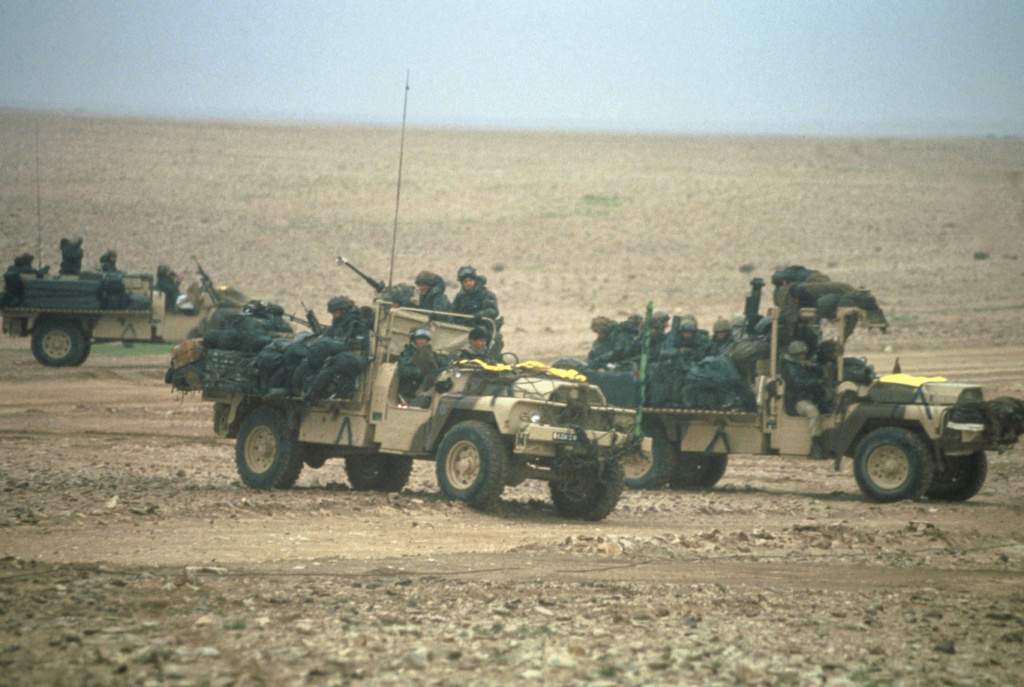 Le 1er GCP il y a 30 ans le 23 Février 1991 Bernar11