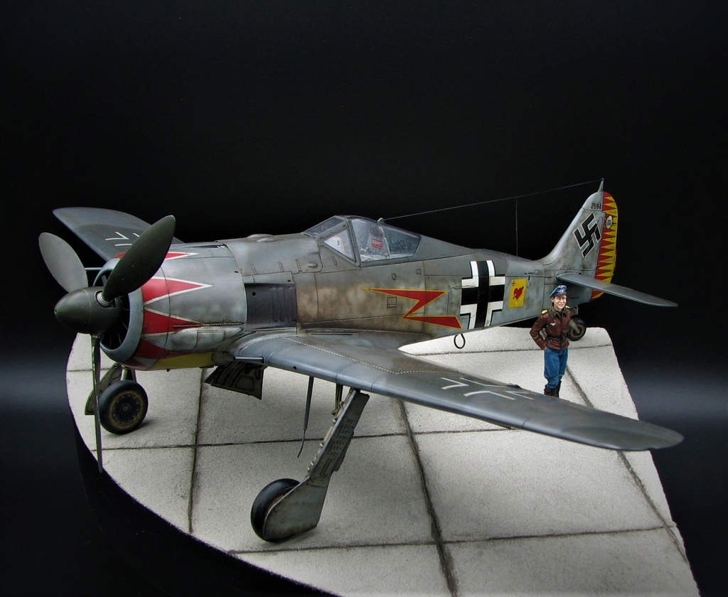 fw 190 A5 hasegawa  au 32.....  fini ...!!!! - Page 6 Img_6511