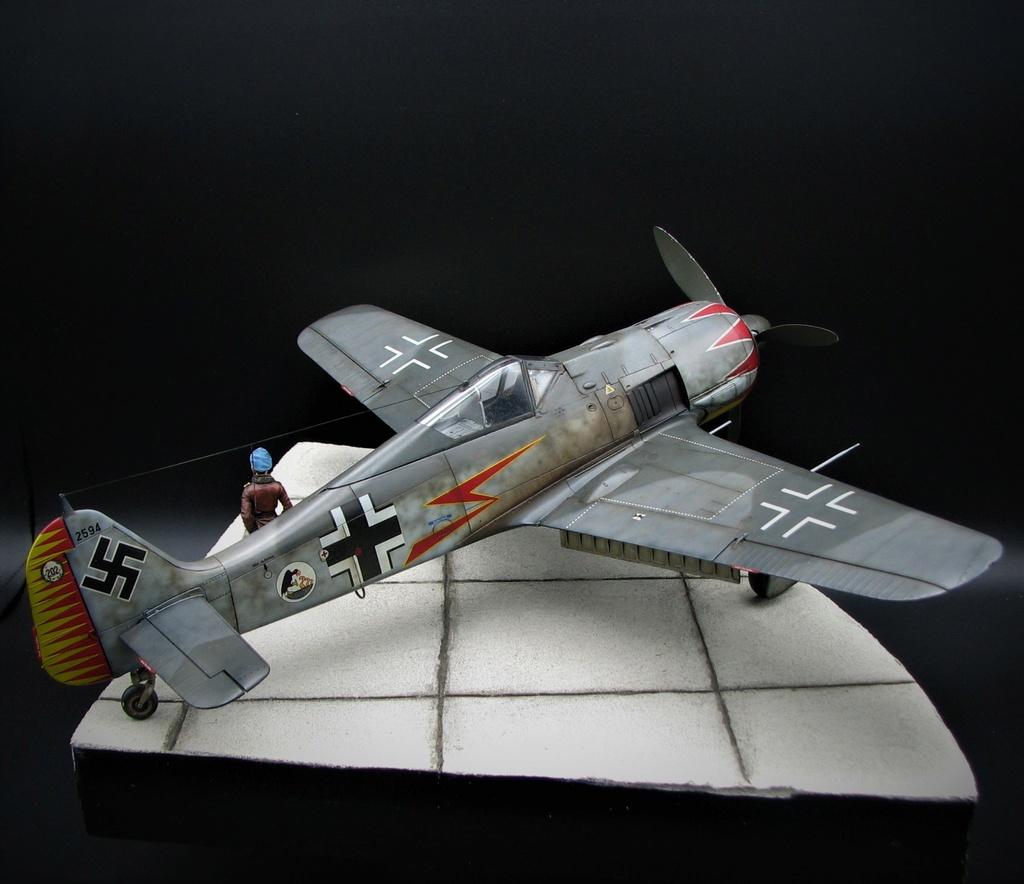 fw 190 A5 hasegawa  au 32.....  fini ...!!!! - Page 6 Img_6513
