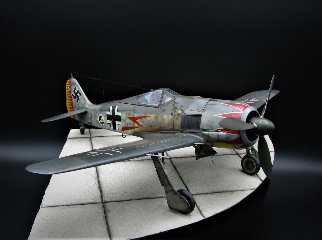 fw 190 A5 hasegawa  au 32.....  fini ...!!!! - Page 6 Img_6515