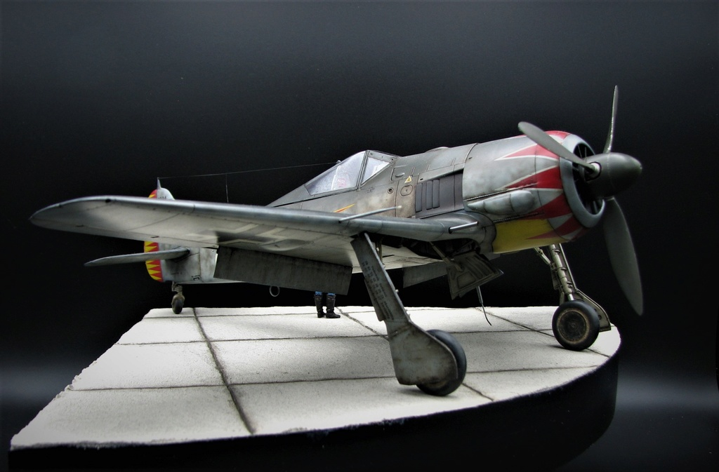 fw 190 A5 hasegawa  au 32.....  fini ...!!!! - Page 6 Img_6517