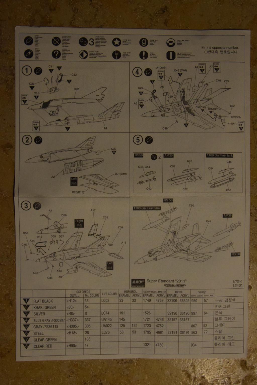 ACADEMY - Super Etendard - 1/72 00212