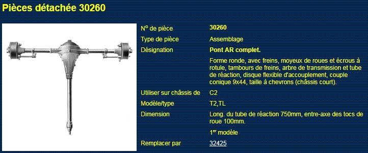 Arbre transmission trop long 3026010