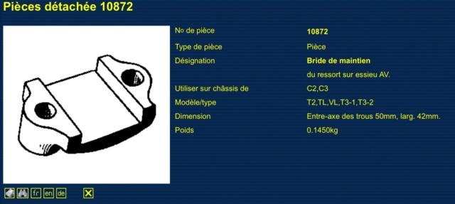 Cales des ressorts 66243910