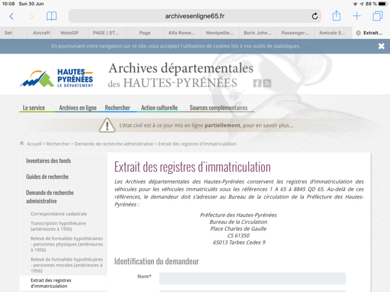 Archives de Cartes Grises 724f8c10