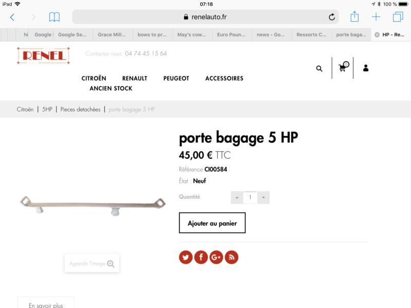 Porte bagage  trèfle 7fe13610