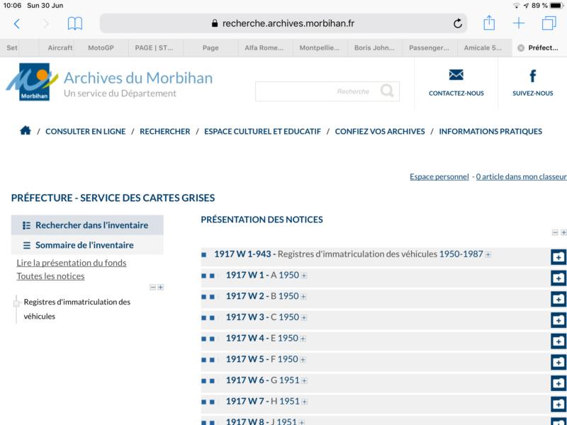 Archives de Cartes Grises A4b24810