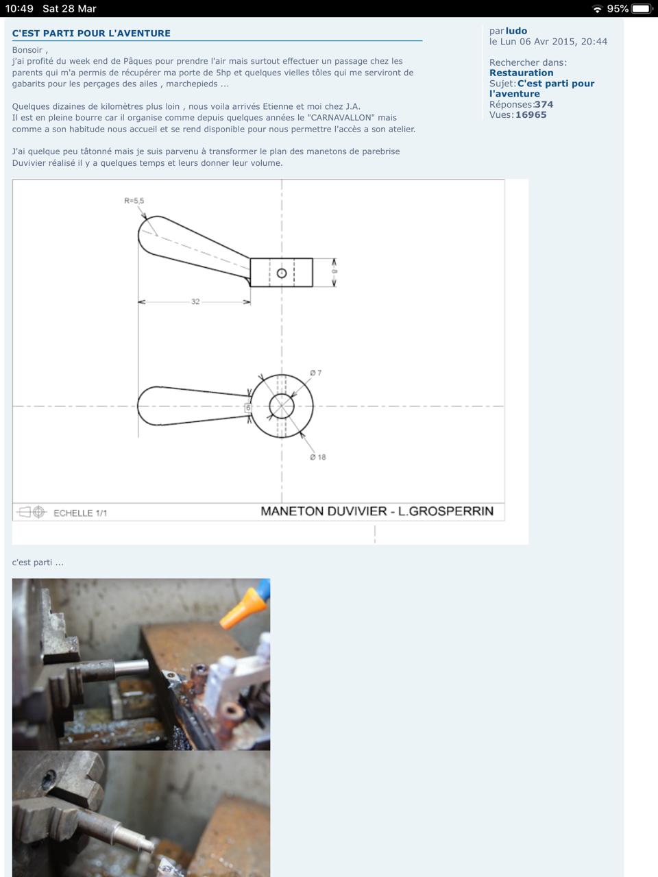 Commande tourillon / pièces montant de pare-brise Img_1610