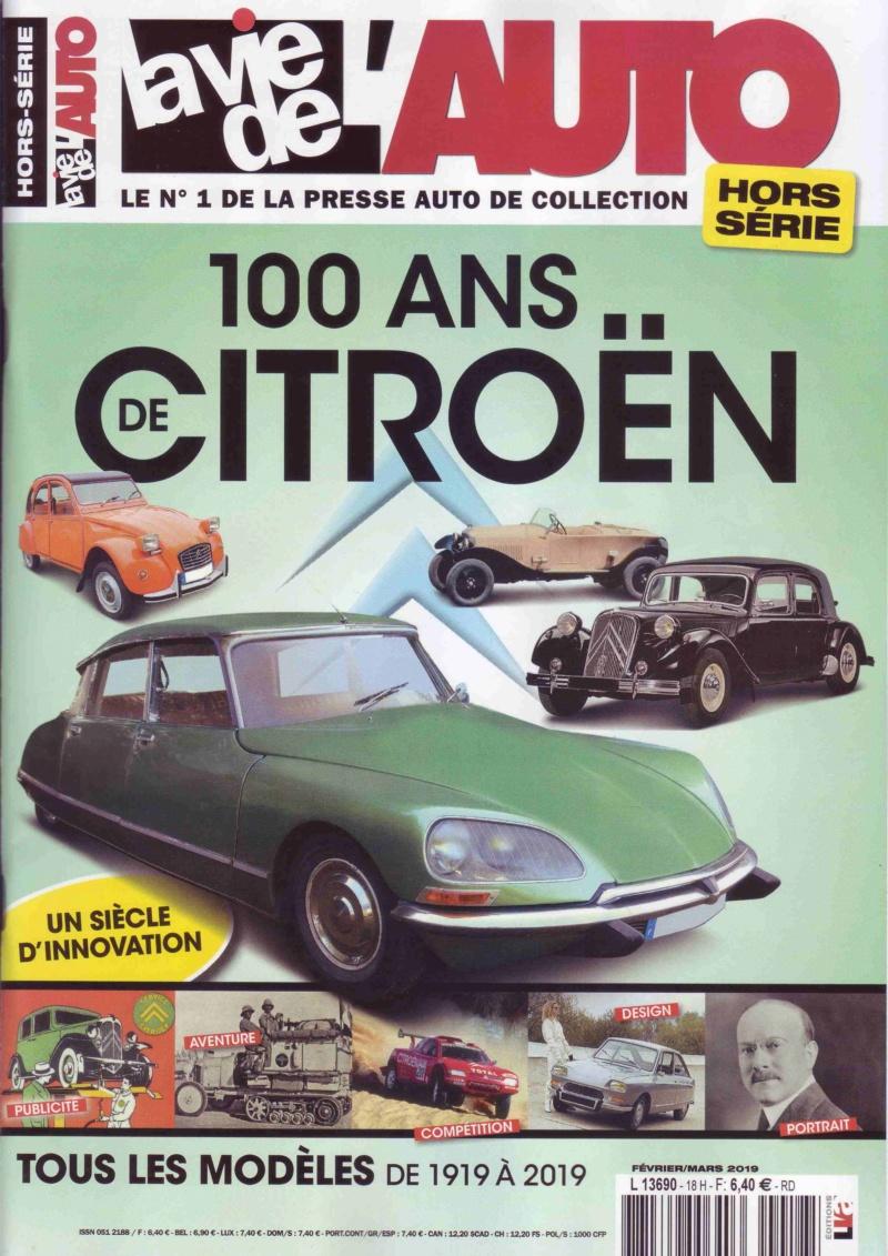 Centenaire Citroen - N° spécial : 100 ans de Citroën par la Vie de l'Auto  Lva11