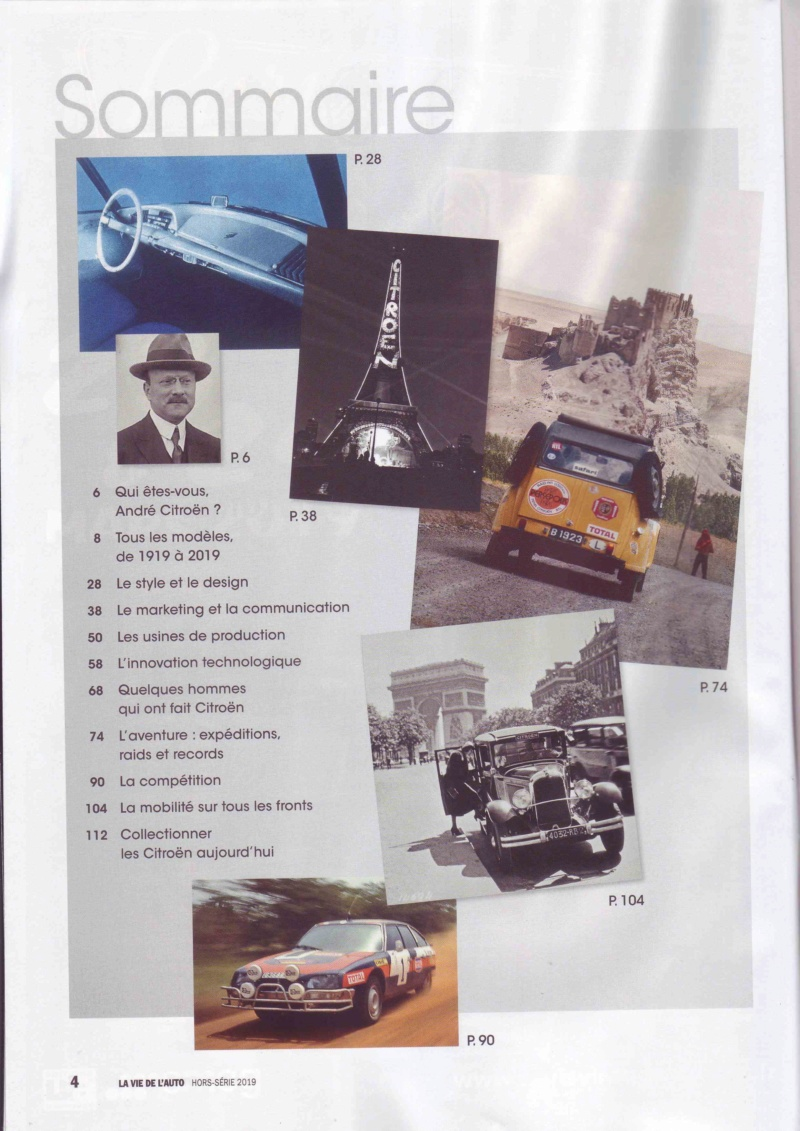 Centenaire Citroen - N° spécial : 100 ans de Citroën par la Vie de l'Auto  Lva_110