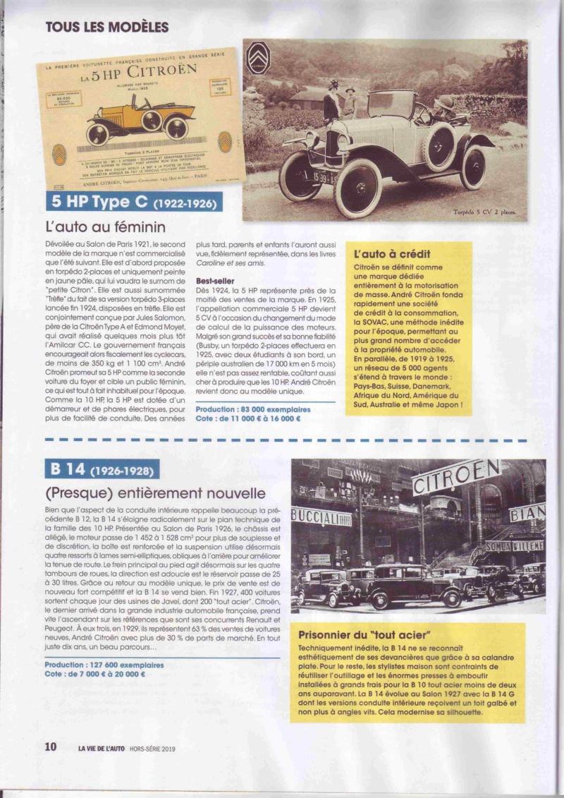 Centenaire Citroen - N° spécial : 100 ans de Citroën par la Vie de l'Auto  Lva_210