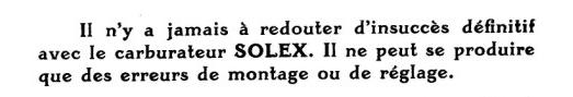 restauration cabriolet nr 10380 - Page 7 Solex10