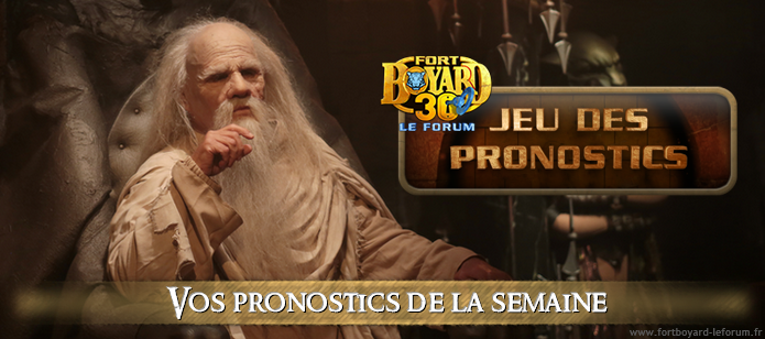[FERME Vos pronostics pour l'émission 6 du samedi 27/07/2019 Pronos13