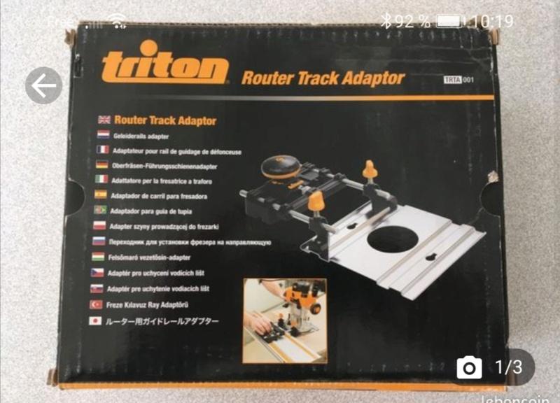 Accessoire défonceuse Triton Screen11