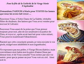 8 septembre : Nativité de la Vierge Marie  8_sept11
