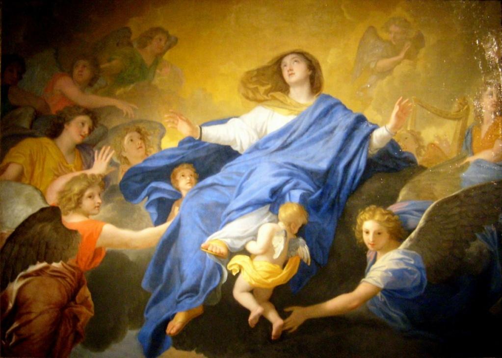 Préparons-nous dès à présent à l'ASSOMPTION de Marie. Assomp11