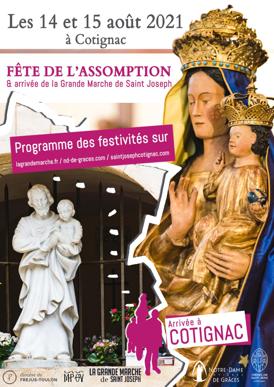 Marie et la France... 500 è anniversaire des App. à Notre Dame de Grâces. Cotign10