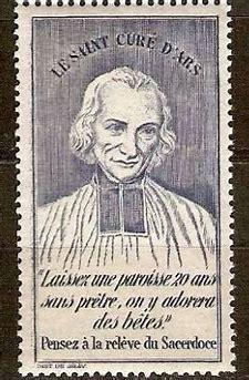 Le sacerdoce, c'est l'amour du Coeur de Jésus (Saint Curé d'Ars) Laisse10