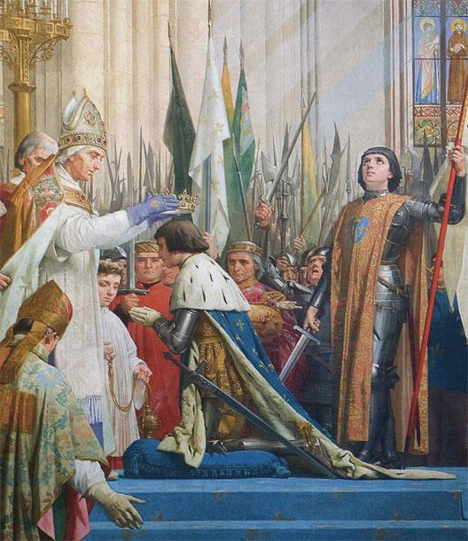 17 juillet 1429 : Sacre du roi Charles VII à Reims grâce à Jeanne d'ARC. Sacre_10