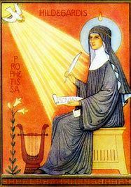 Sainte Hildegarde de Bingen - Lumière de Dieu ! Sainte10