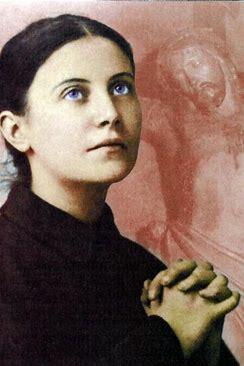 Sainte Gemma Galgani (12/03/1878 - 11 avril 1903) Lucca - Italie. Sainte11