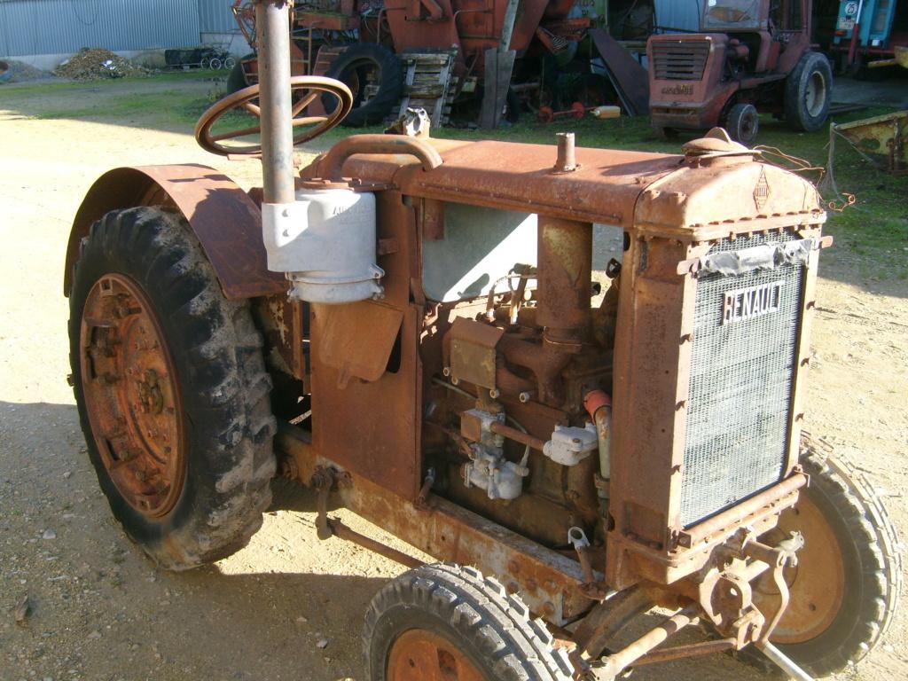 Tracteur renault yl ou avf S7300115