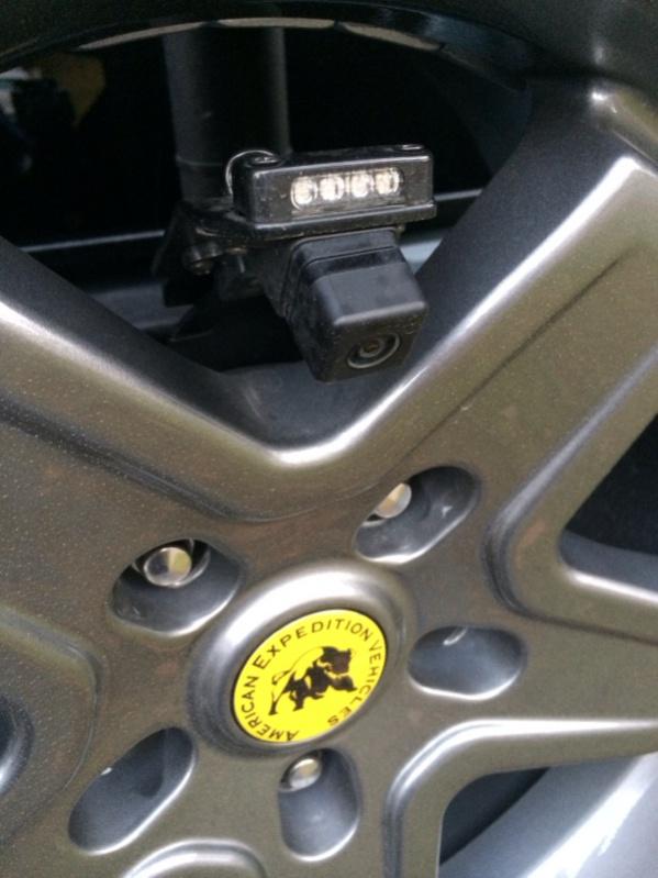 Jeep Wrangle JKU installazione retrocamera Image-12