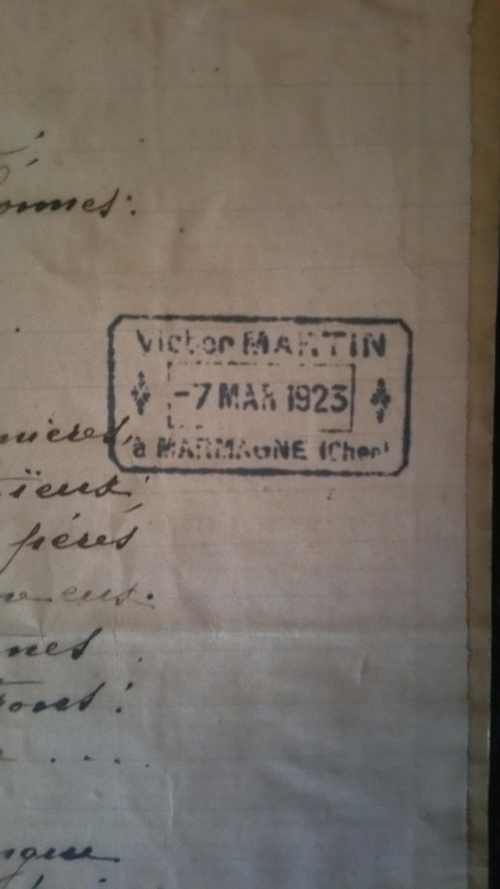 manuscrit chant ou poésie de Maurice Martin 20200145