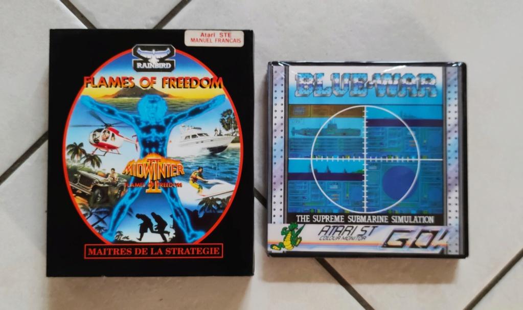 [VDS] Jeux Atari ST en boîte 16012010