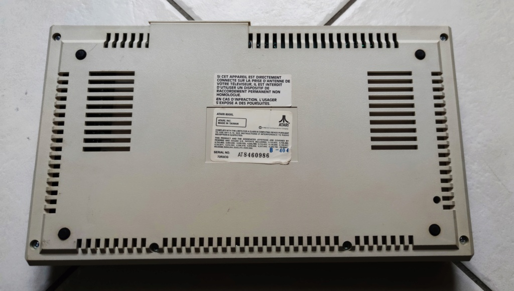[VENDU] Atari 800XL en boîte 16047614