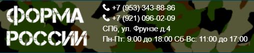 Форма России 1110