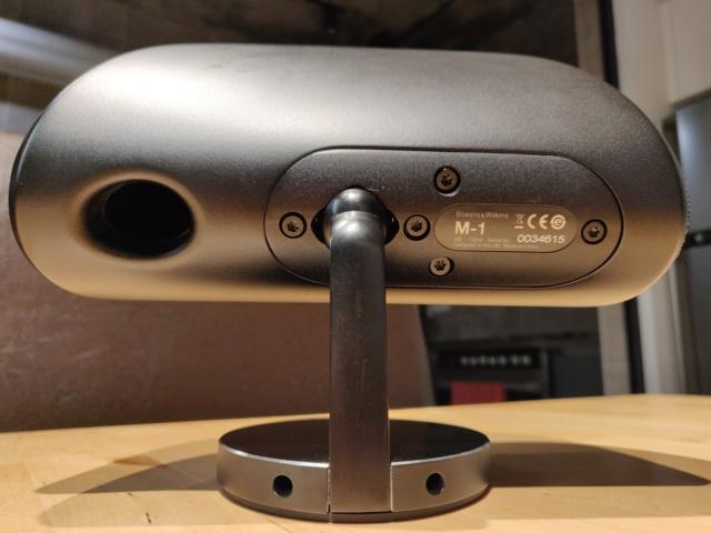 Bowers & Wilkins M-1 Satellite Speaker (single unit) Rear13