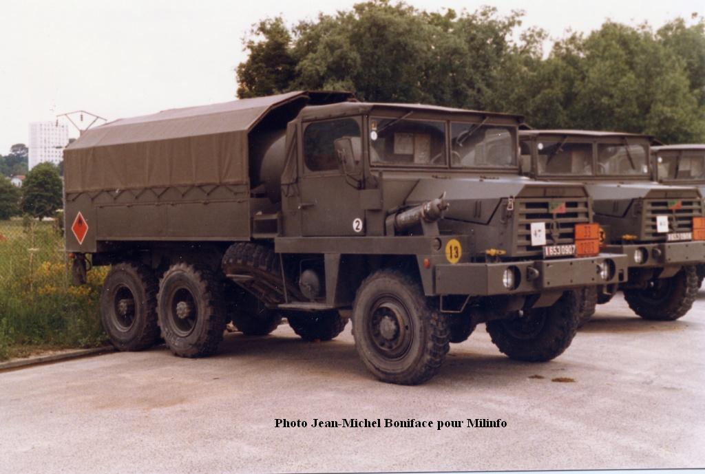 Camion BERLIET GBC 8 KT citerne (SCRATCH) échelle 1/35 65309010