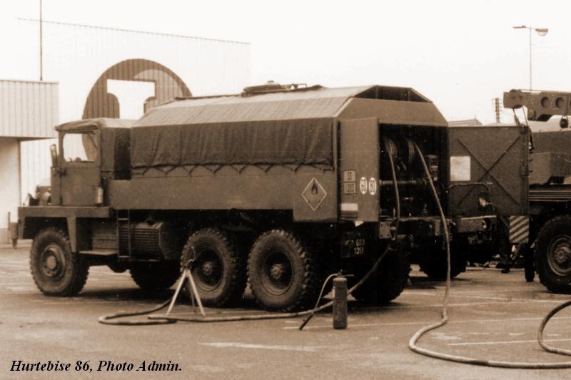 Camion BERLIET GBC 8 KT citerne (SCRATCH) échelle 1/35 65312510