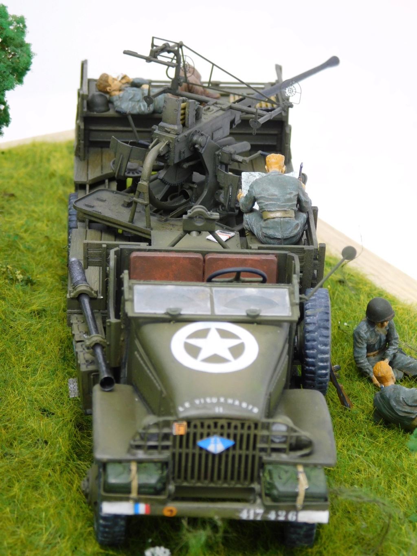 Camion GMC équipé d'un canon de 40 m/m Bofors - marque HOBY BOSS - échelle 1/35 TERMINE. - Page 2 Dscn0612